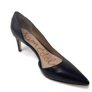 Sam Edelman Onyx Half D'Orsay Heels Size 9